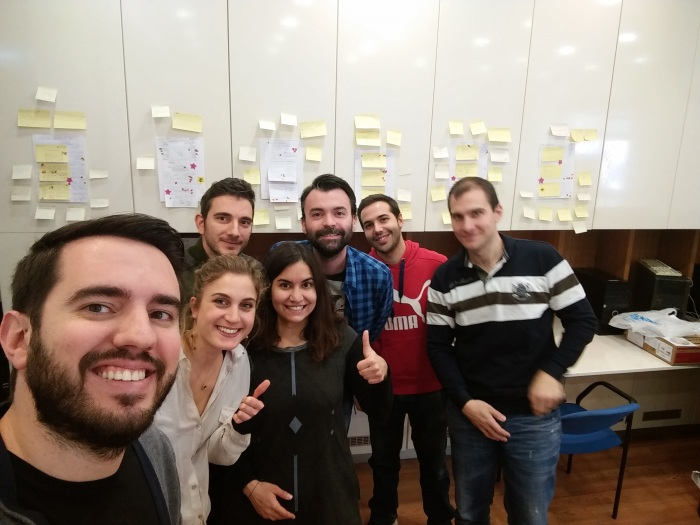 Lean Everywhere: How I initiated a Sprint in an EU-fundedproject